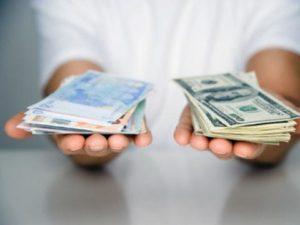 Dollaro cambio, grafico, quotazione